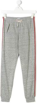 Chloé Kids side stripe sweatpants