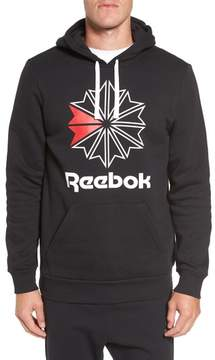 Reebok Men's Classics Star Graphic Hoodie