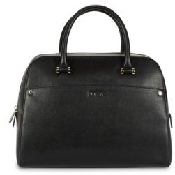Margo Elena Textured Leather Satchel
