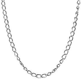 American West Sterling 14 Antiqued Cable Chain