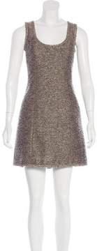 Andrew Gn Knit Mini Dress