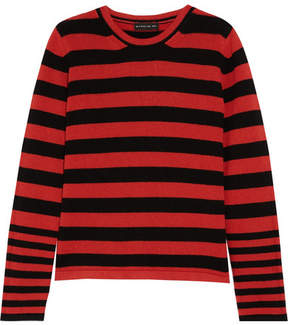 Etro Striped Knitted Sweater - Red