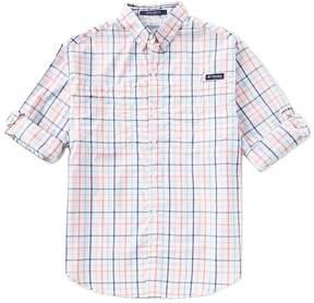 Columbia PFG Super Tamiami Check Long-Sleeve Woven Shirt