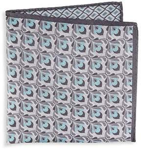 Saks Fifth Avenue Men's Geometric Silk Pocket Square
