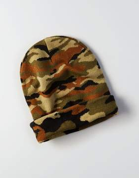 American Eagle Outfitters AE Camo Beanie