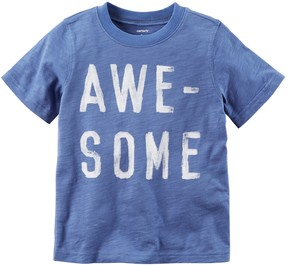Carter's Toddler Boy Awesome Slubbed Tee
