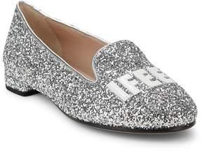 Chiara Ferragni Women's Chiara Glitter Loafers