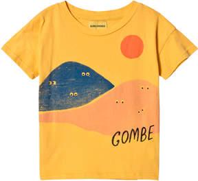 Bobo Choses Yellow Mountains Short Sleeve T-Shirt