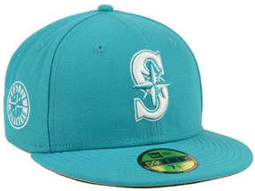 New Era Seattle Mariners C-Dub Patch 59FIFTY Fitted Cap