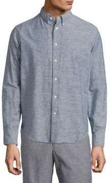 Rag & Bone Tomlin Cotton Shirt