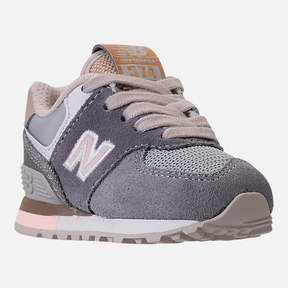 New Balance Girls' Toddler 574 Casual Shoes