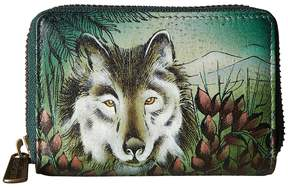 Anuschka 1110 Credit And Business Card Holder Coin Purse