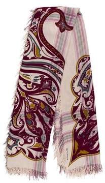 Etro Woven Printed Scarf