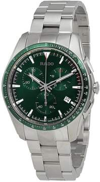 Rado HyperChrome Chronograph Green Dial Men's Watch