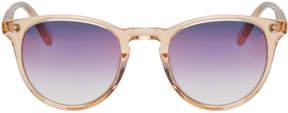 Garrett Leight Pink Milwood Sunglasses