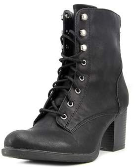 American Rag Alaina Women Round Toe Synthetic Black Ankle Boot.