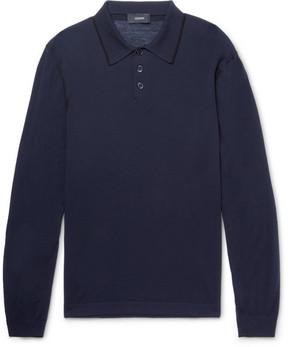 Joseph Slim-Fit Merino Wool Polo Shirt