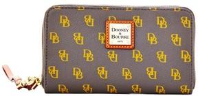 Dooney & Bourke Gretta Zip Around Phone Wristlet - CHARCOAL - STYLE