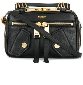 Moschino biker shoulder bag