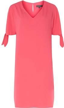 Dorothy Perkins **Tall Pink Tie Sleeve Shift Dress