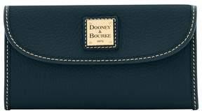 Dooney & Bourke Pebble Grain Continental Clutch