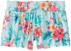 Seafolly Girls' Luau Lu Lu Boardshort (2T7) - 8148041
