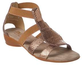 Munro American Women's Zena Leather Sandal.