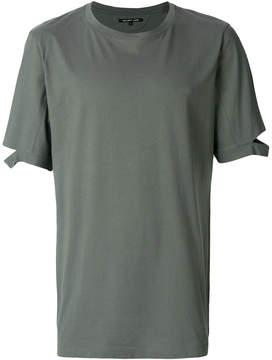 Helmut Lang slit detail T-shirt