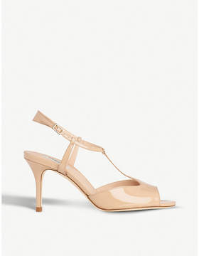 LK Bennett Quinn patent-leather sandals