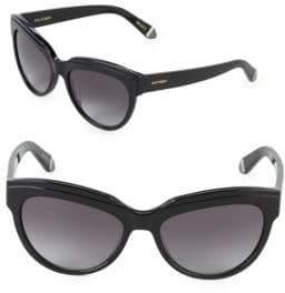 Zac Posen Tennille 56MM Square Sunglasses