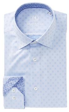 Bugatchi Box Shaped Fit Dress Shirt