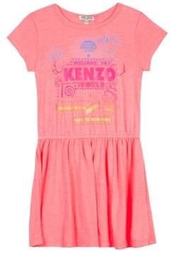 Kenzo Logo Skater Dress