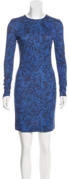 Matthew Williamson Printed Mini Dress