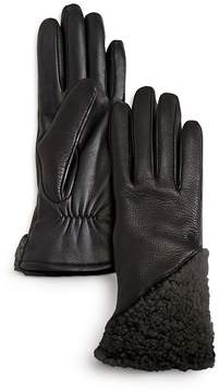 UGG Smart Curly Shearling Gloves