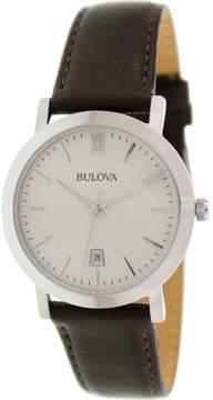 Bulova Quartz Silver Men's Analog Watch BL 96B217
