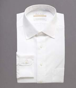 Roundtree & Yorke Gold Label Non-Iron Full-Fit Spread-Collar Solid Dress Shirt