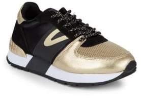 Tretorn Loyola Metallic Low-Top Sneakers