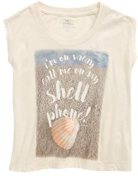 O'Neill Girl's Shell Phone Graphic Print Tee