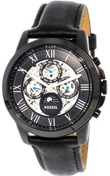 Fossil Men's ME3028 Grant Leather Watch, 44mm
