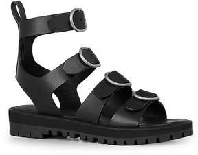 AllSaints Raquel Leather Buckled Sandals
