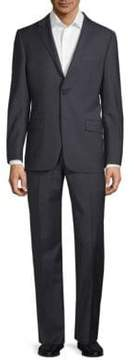 Hickey Freeman Mini Checkered Wool Suit