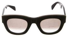 Celine Round Gradient Sunglasses
