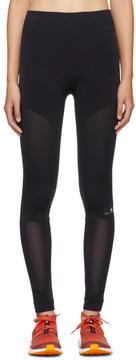 adidas by Stella McCartney Black Warpknit Climacool Leggings