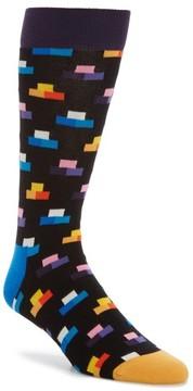 Happy Socks Men's Digitized Pixel Socks