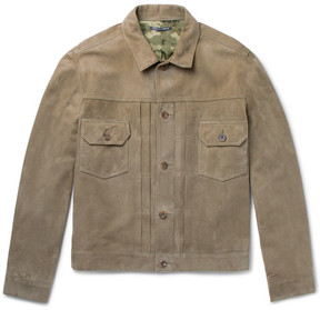 Richard James Suede Jacket