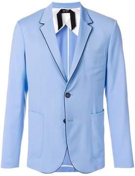 No.21 single breasted blazer