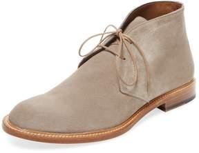 Antonio Maurizi Men's Leather Lace-Up Chukka Boot