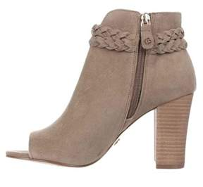 XOXO Womens Belina Open Toe Ankle Fashion Boots.