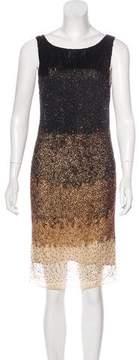 Haute Hippie Ombré Embellished Dress