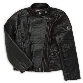Urban Republic Girl's Mockneck Long-Sleeve Jacket